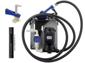 Pompe pour AdBlue® IBC 34 l/min, pistolet automatique, compteur digital, tuyau pour AdBlue® Blurea Pompe pour AdBlue® IBC 34 l/min, pistolet automatique, compteur digital, tuyau pour AdBlue® Blurea
