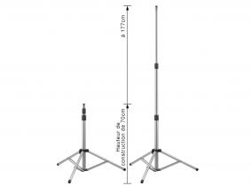 Projecteur LED trépied support simple AdLuminis Projecteur de chantier LED trépied support simple AdLuminis