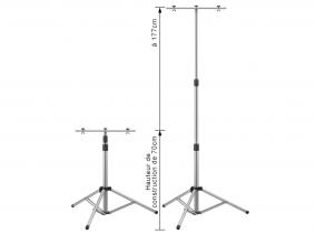 Projecteur LED trépied support multiple AdLuminis Projecteur de chantier LED trépied support multiple AdLuminis