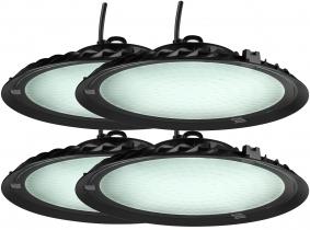 4x Cloche LED UFO high bay 150W 13.500lm suspension industrielle AdLuminis 4x Cloche LED UFO high bay 150W 13.500lm suspension industrielle AdLuminis