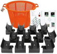 12 WingX Cavaletti Stangenaufsätze mit Korb 12 WingX Cavaletti Stangenaufsätze inkl. Korb und Begleitheft