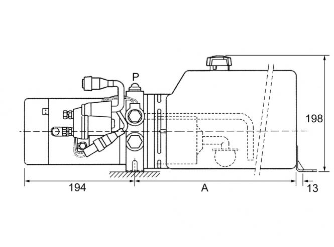 FK Söhnchen* | Hydroaggregat 12VDC/1800W, 180bar, 4ltr. Tank ...