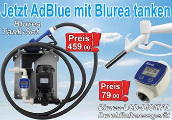 AdBlue Betankung