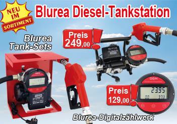 Diesel Betankung