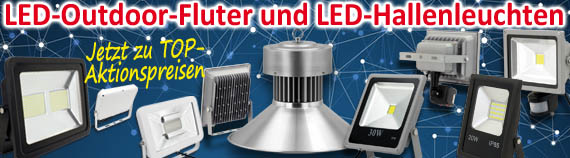 LED Fluter & LED Hallenstrahler