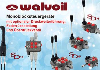 Walvoil Hydraulikventile